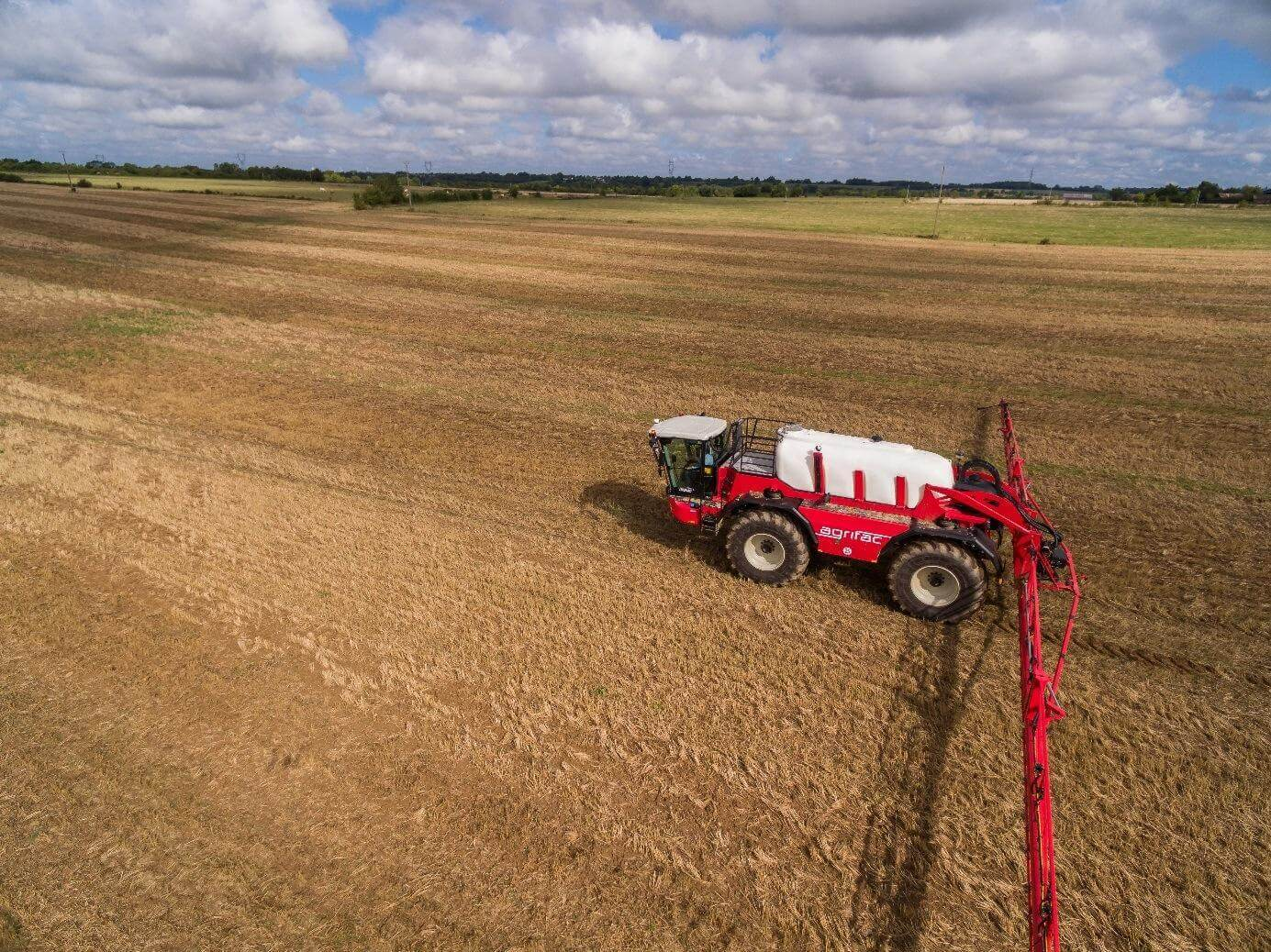 Agrifac Sprayers are now offered Ag Leader Ready