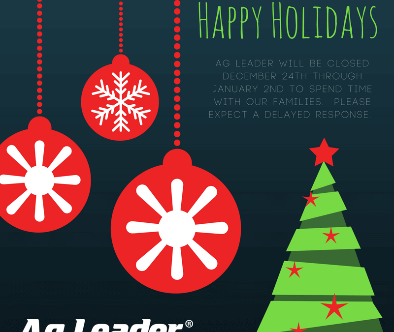 Warm Wishes from Ag Leader!