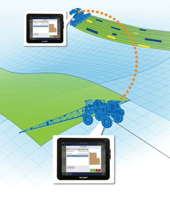 Don't store your planting data away until fall, use your maps and guidance lines in the sprayer!