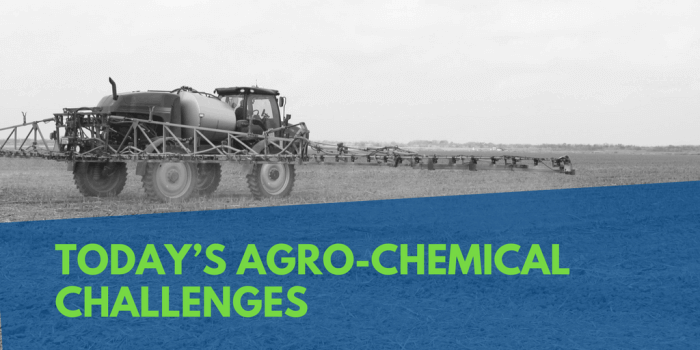 Today's Agro-Chemical Challenges