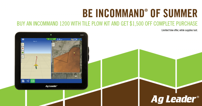 Be InCommand of Summer: Save on Water Management Tools!