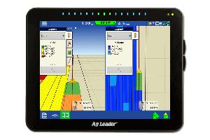 Yield monitoring on incommand 1200