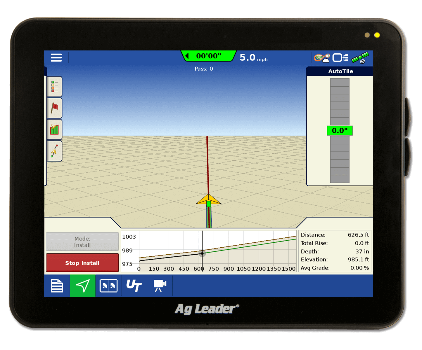 auto tile with incommand 1200