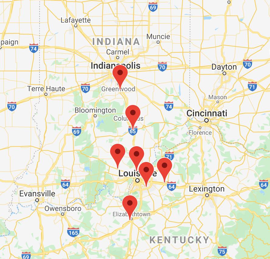 Jacobi  Sales locations