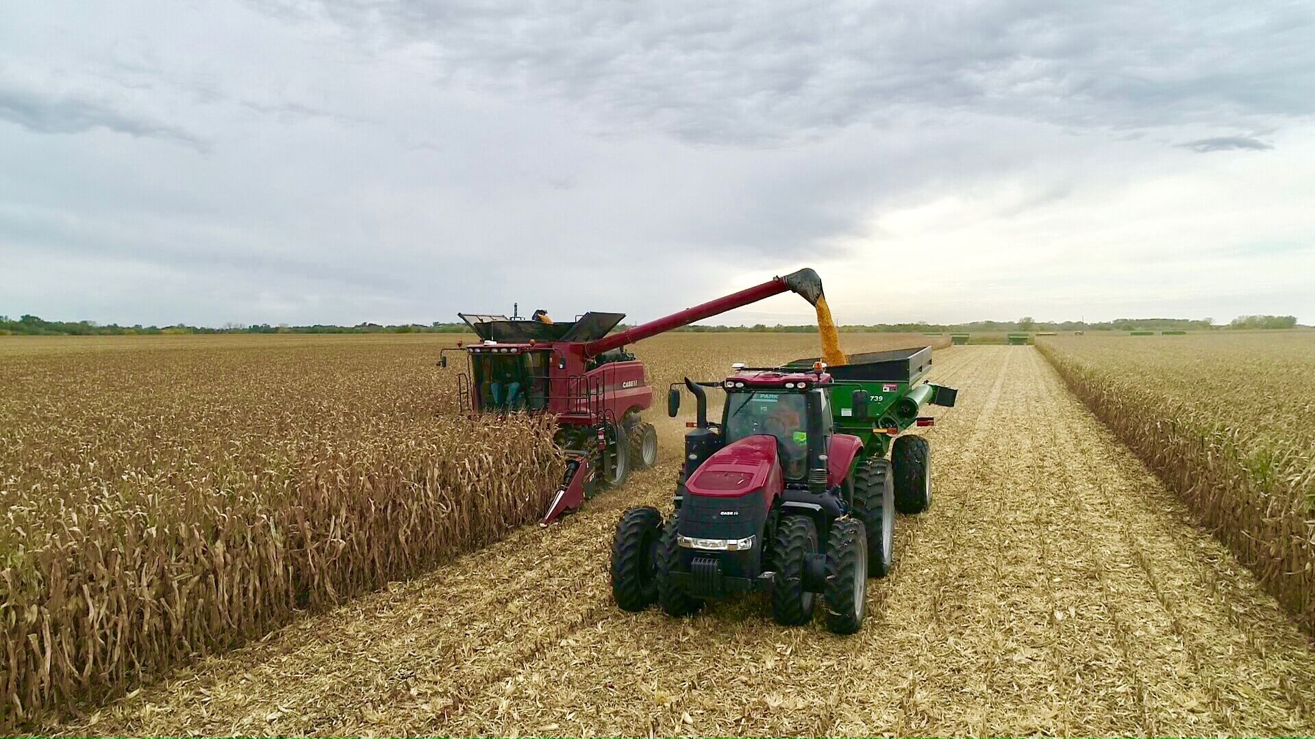 Unload Right on Time this Harvest