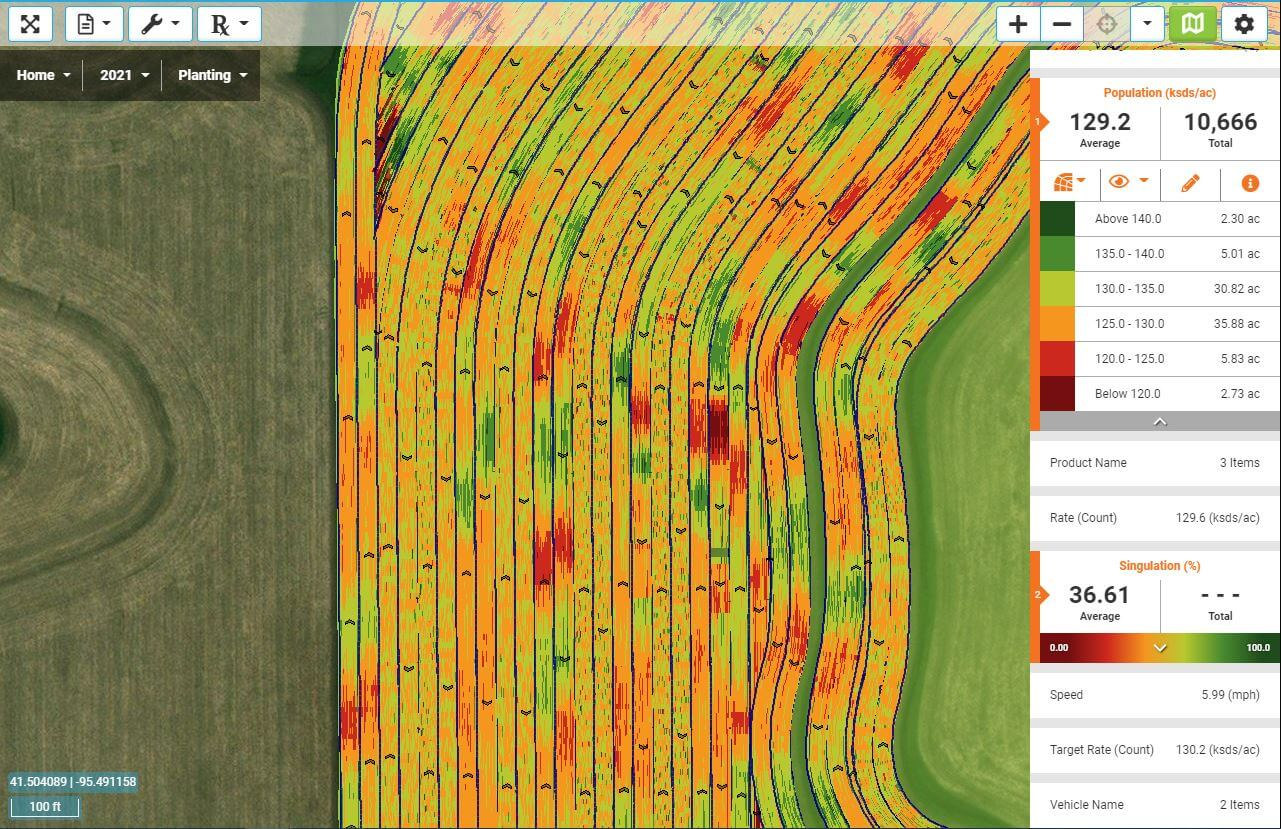 Iowa SureSpeed Trial Results